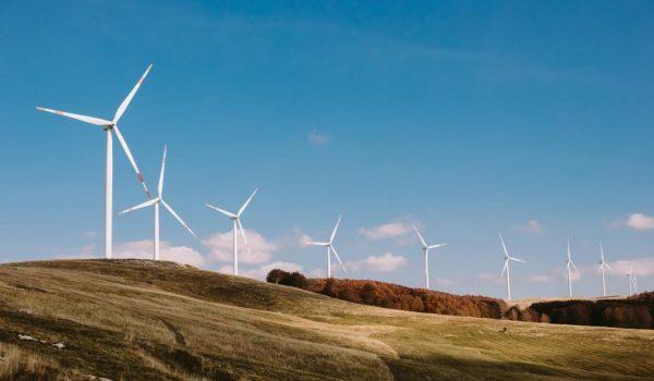 Wind turbine farm nbwvcss